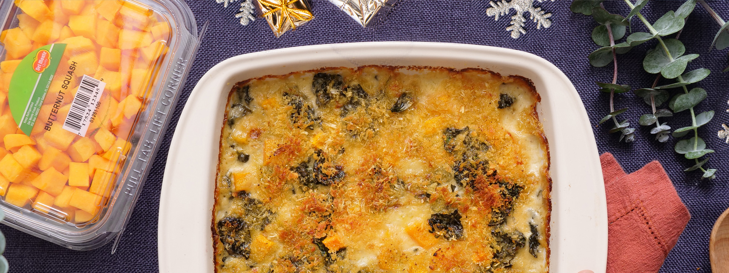 Homepage-Banner_Try-Our-Recipes_Butternut-Squash-Kale-Gratin_Dec-2019